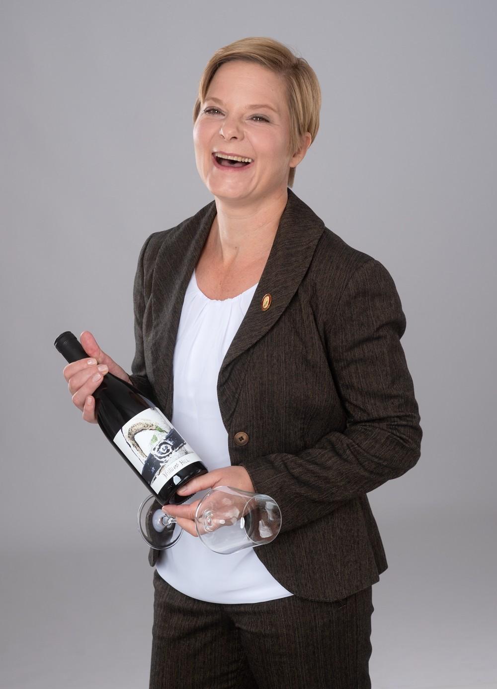 Master Sommelière Helga Schröder